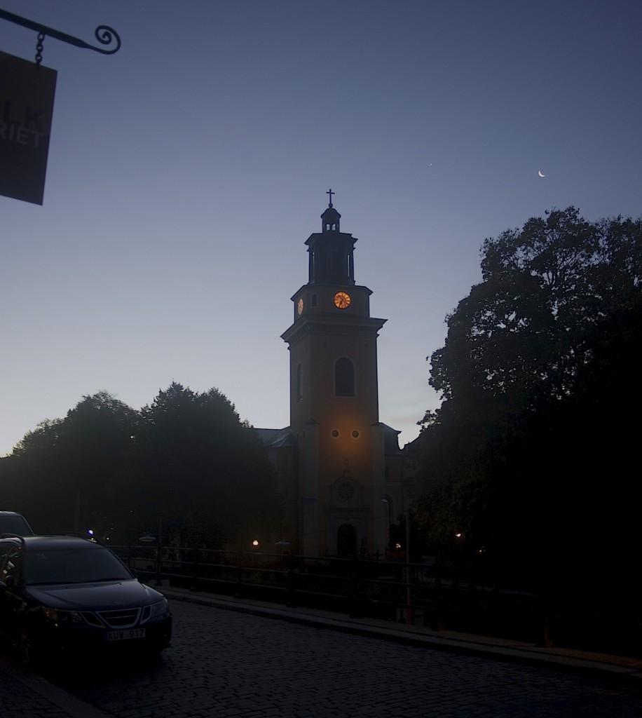 Hornsgatspuckeln och Maria Magdalena kyrka