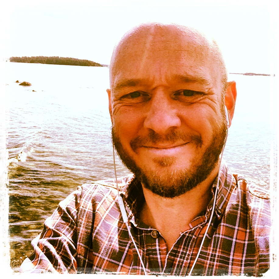 Selfie på Schweizerbadet.