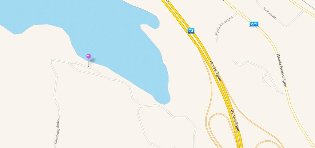 Väg på Apples karta som inte funnits på 60 år