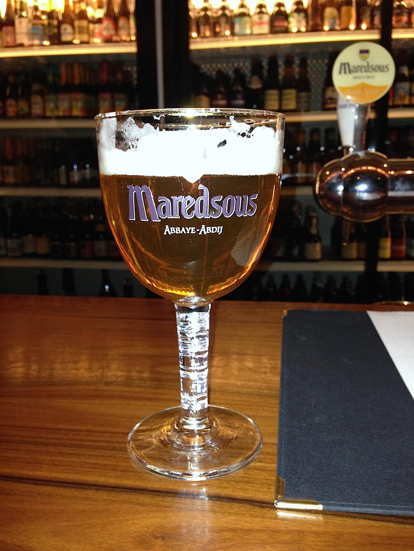 Maredsous, belgisk nånting.