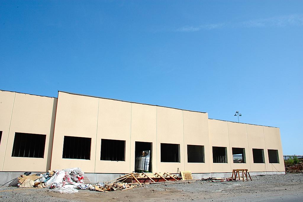 Nybyggd snart klar industrilokal