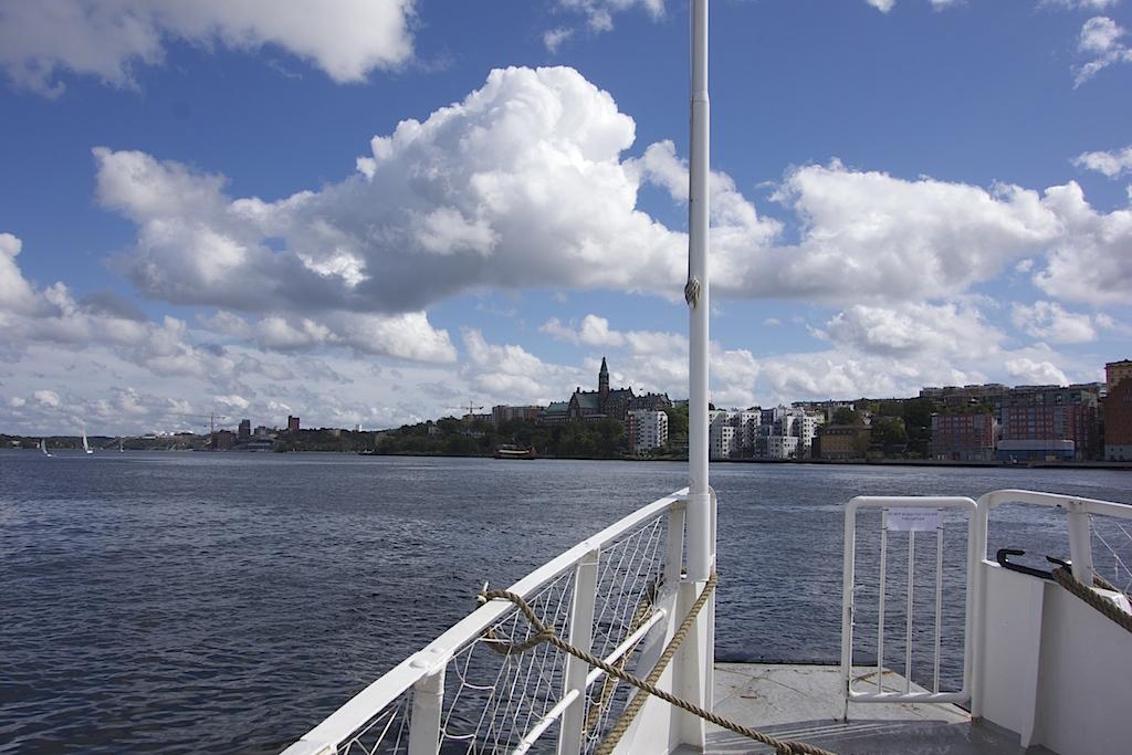 Linje 80, en kollektivtrafikbåt i Stockholm