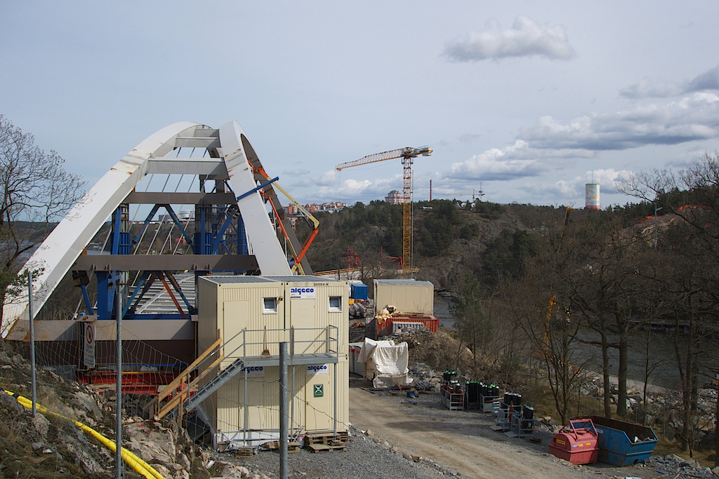 Bron på Kvarnholmen