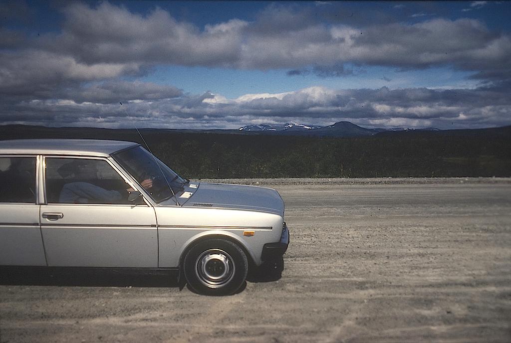 Fiat 131 på Flatruet