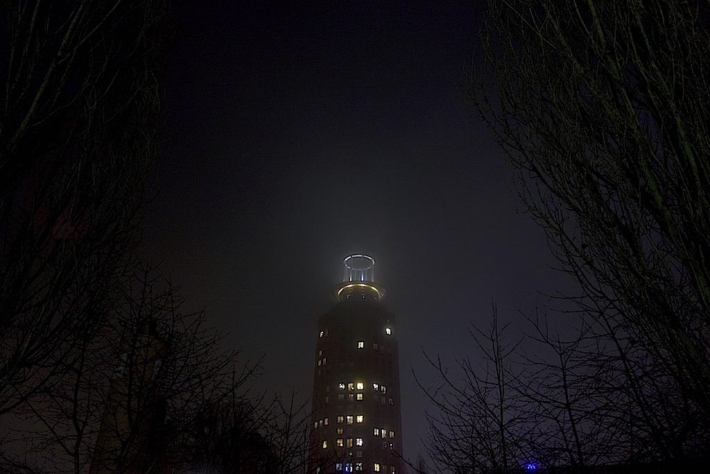 Söder torn på natten
